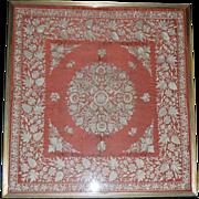 Suzhou- Hand Needlework on Silk, Qing Dynasty
