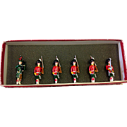 6 Toy Soldier collection by Fred Wehr Highland Regiment, British Army