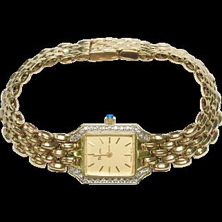 Bulova 14K gold watch