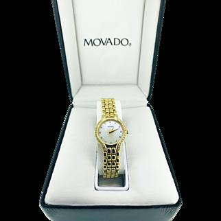 14k Movado Ladies Watch