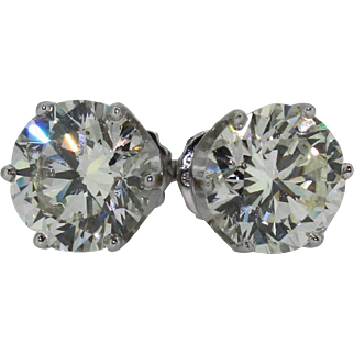 Platinum and Diamond Studs