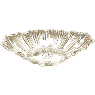 Vintage Reed & Barton Sterling Silver Bowl with Monogram