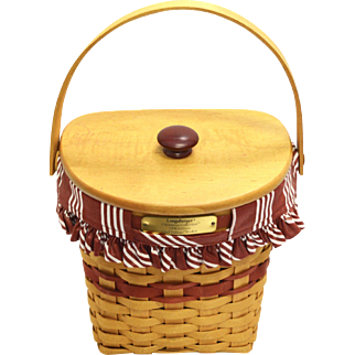 "Longaberger Basket ""Christmas Collection"""