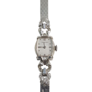 Vintage Longines Watch with Diamonds