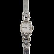 Vintage Longines Watch with Diamonds