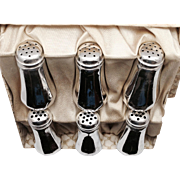 Weidlich Brothers Sterling Silver Salt & Pepper Shaker Set of 6