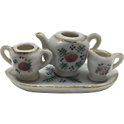 Miniature 4 piece Tea or Coffee Set- Occupied Japan