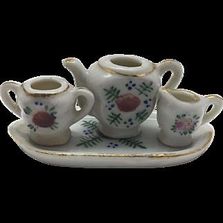 Miniature 4 piece Tea or Coffee Set- Occupied Japan