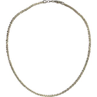 Singapore Splarkle Chain- 3.25mm- Sterling Silver