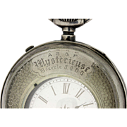 Mysterieuse Sterling Silver Pocket watch