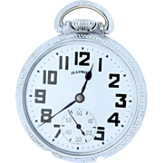 Illinois Bunn special 60 hour Pocket Watch