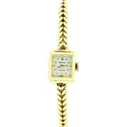 18K Yellow Gold Ladies Rolex Wrist Watch