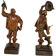 Pair of Cavalier Bookends