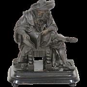 Large Antique Bronze of a Renaissance Artist