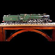"""An English live steam 3.5"""" gauge locomotive Britannia."""