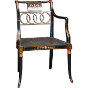 A Decorative Ladies Desk Chair / Armchair.