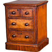 A good quality English Antique Miniature chest of drawers, circa 1840
