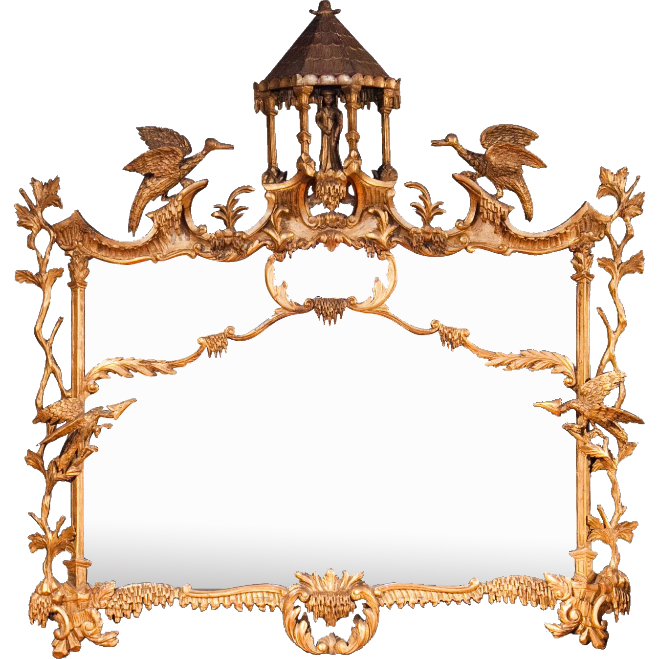 An English Chippendale Chinoiserie Design Landscape Mirror From Jonathan Daniels Antiques On