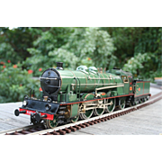 A Gauge 1 live steam locomotive by Aster.