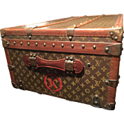 A vintage Louis Vuitton Cabin Trunk from the 1930's.