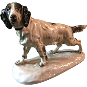 Herend porcelain figure of a Setter.
