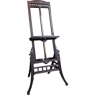 An American Antique Easel from the Aesthetic Movement period.