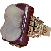 Roman Soldier Cameo Ring