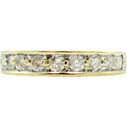 Timeless .40 tcw Diamond Wedding Band 14K Gold | Bridal Jewelry | Stacking Ring