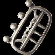 Silver Stock Buckle 18th Century Georgian