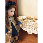 1950's Complete Set of Lustre Ware Child's Doll Dishes