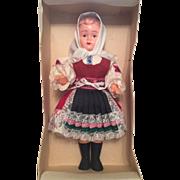 Czechoslovakia Doll In Original Box, Celluloid