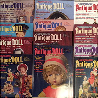 Complete 2015 Antique Doll Collector for Reference