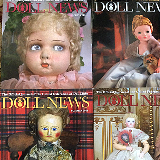 Complete 2016 Doll News Magazines Plus 4 More for Reference