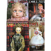 Complete 2016 UFDC Doll News Magazines Plus 4 More for Reference