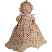 "4-Piece Complete Gown Set for 5"" Baby Doll"