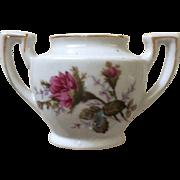 1950's Moss Rose Child's China Sugar Bowl