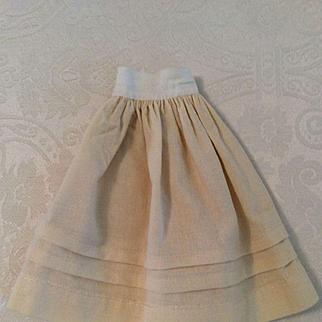 Early Wool Half Slip Petticoat for Fashion Doll
