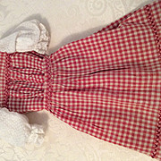 Early Two Piece Dress for Fashion Doll