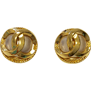 Vintage Chanel Fashion Earrings