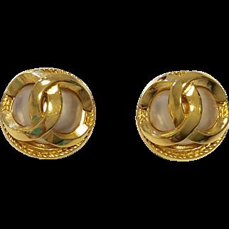 Vintage Chanel Fashion Earrings
