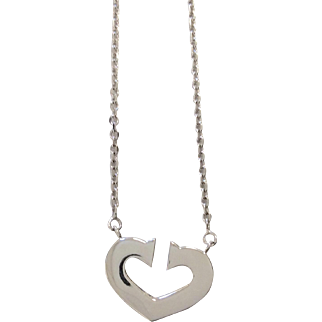 Cartier 18K Hearts of Love Necklace