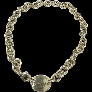 'Return to Tiffany' Tiffany Silver Necklace