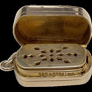 Silver Edwardian Vinaigrette