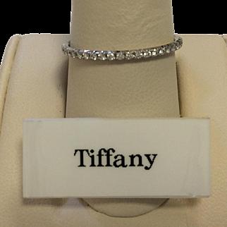 Tiffany & Co. 18K Diamond Band