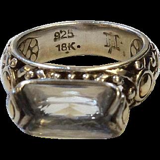 John Hardy Rock Crystal Ring
