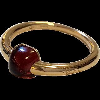 Pomellato 18K Garnet Ring