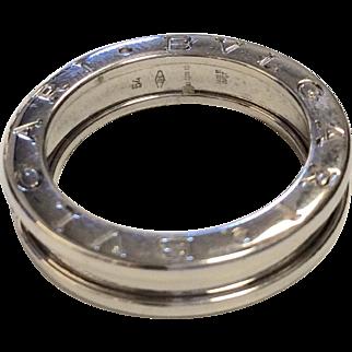 Bulgari 18K B.Zero1 WG Ring