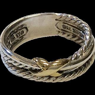 David Yurman Band Ring