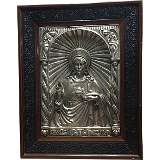 Silver Plated Image of Christ from Illocos (Philippines)