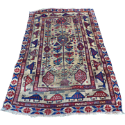 Baluchi Protest Prayer Rug (War Rug)